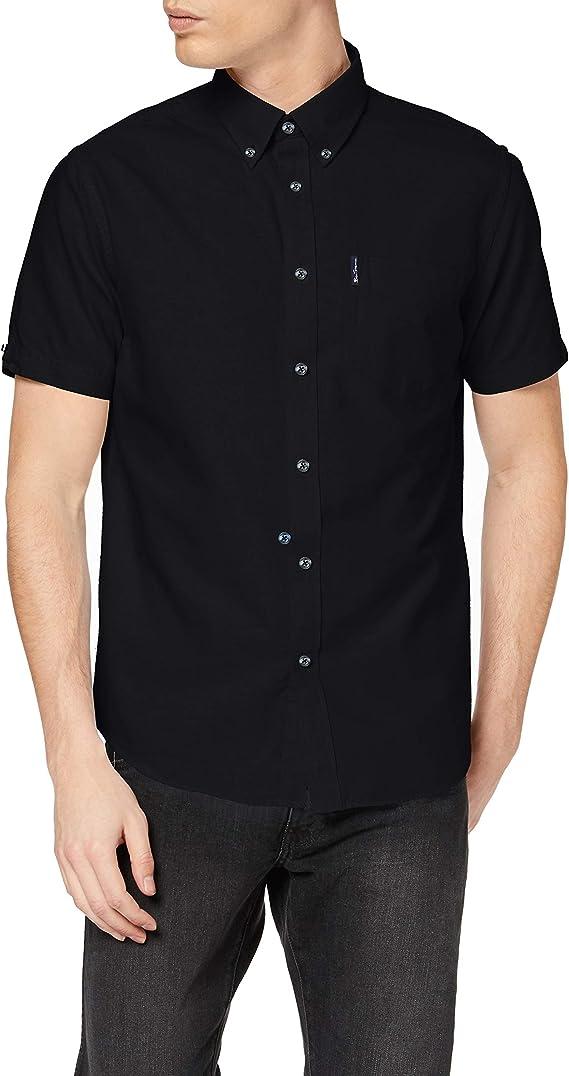 Ben Sherman SS Signature Oxford Shirt Camisa para Hombre: Amazon.es: Ropa y accesorios