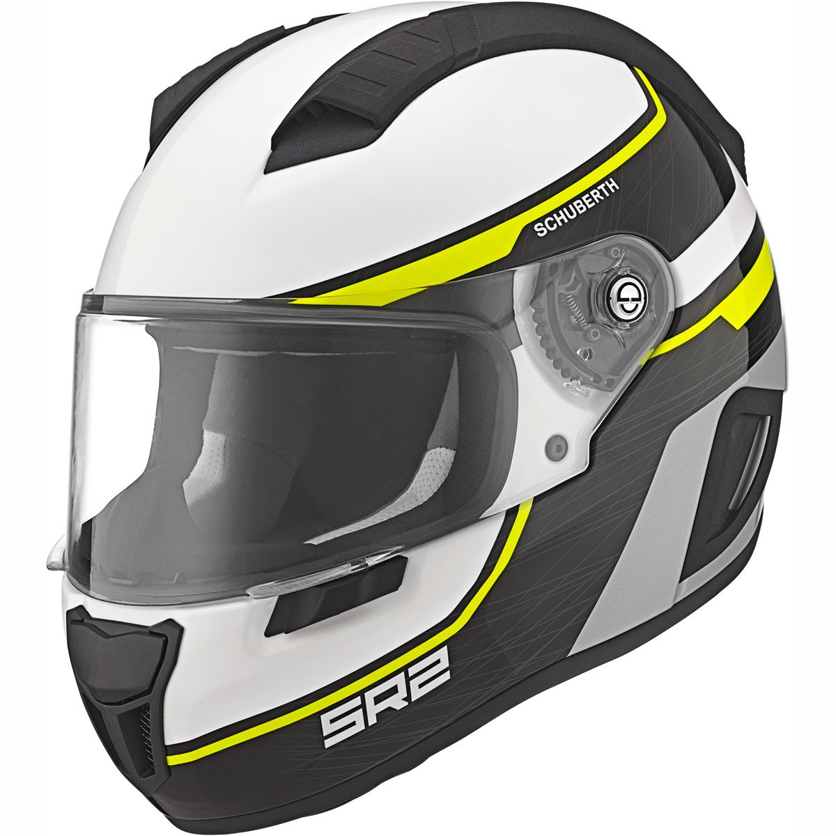 Amazon.es: Schuberth SR2 deportes/Race Full Face casco de moto Lightning amarillo