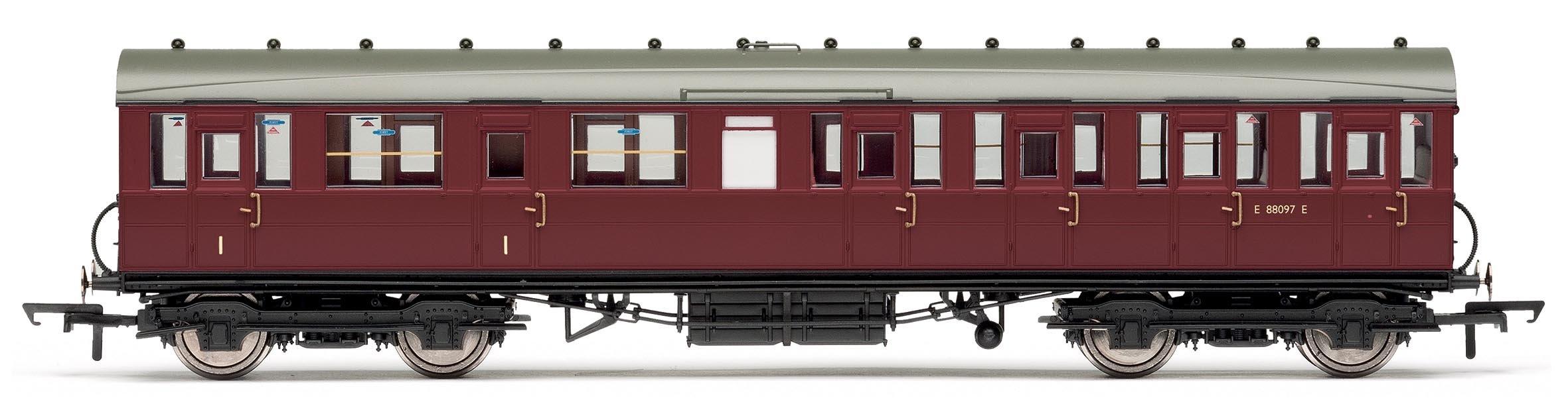 Hornby BR Gresley Suburban Composite Coach