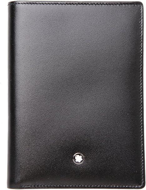 Amazon.com: Montblanc 35799 Monedero 11 CC con ID titular de ...