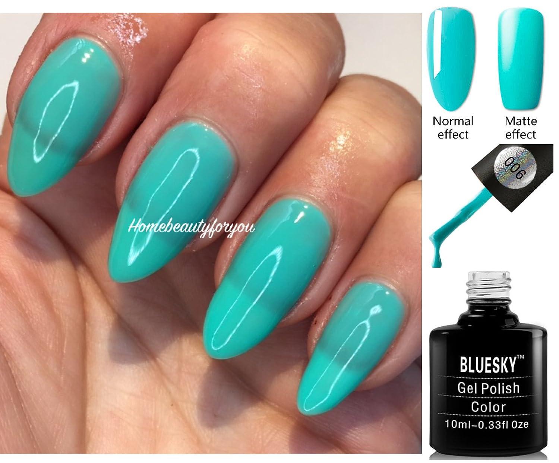 Bluesky Pastel Colours PA01 - PA12 Nail Gel Polish UV LED Soak Off ...