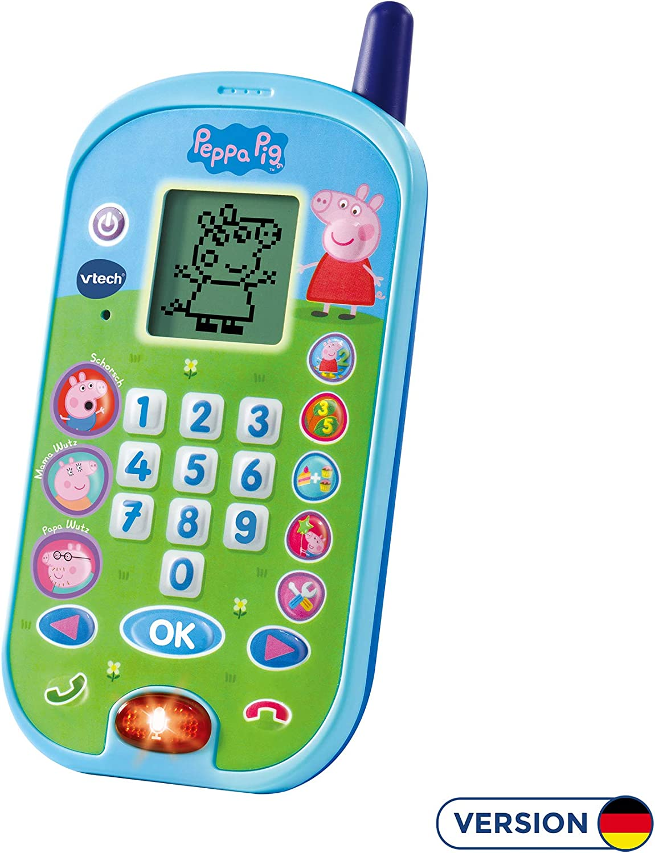 Amazon.es: VTech 80 – 523104 Juguete Teléfono, Multicolor