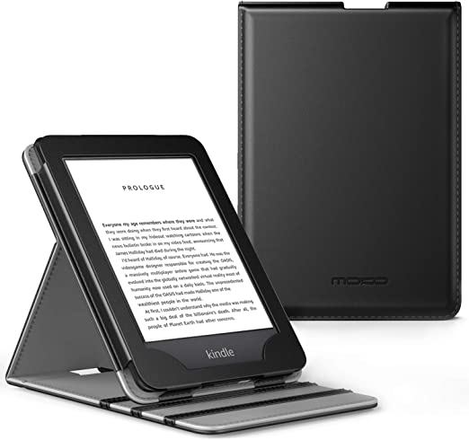 MoKo Case Fits AllNew Kindle 10th Generation 2019  Kindle 8th Generation 2016 Premium Vertical Flip Cover with Auto WakeSleep Function  Black at Kapruka Online for specialGifts