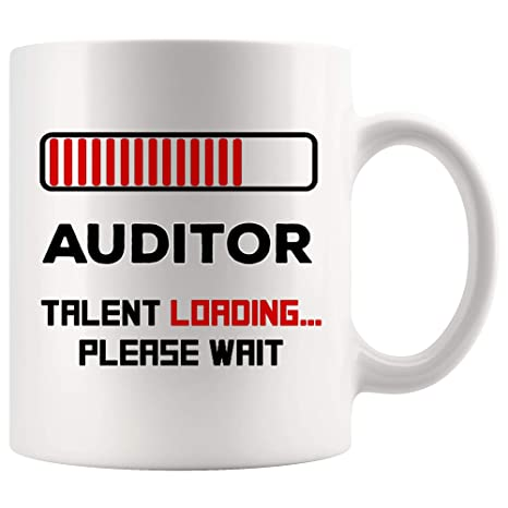 Amazon com: Talent Loading New Auditor Mug Best Coffee Cup