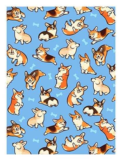 Corgis Card Sleeves –TCG Card Games Standard Size (100 Count)