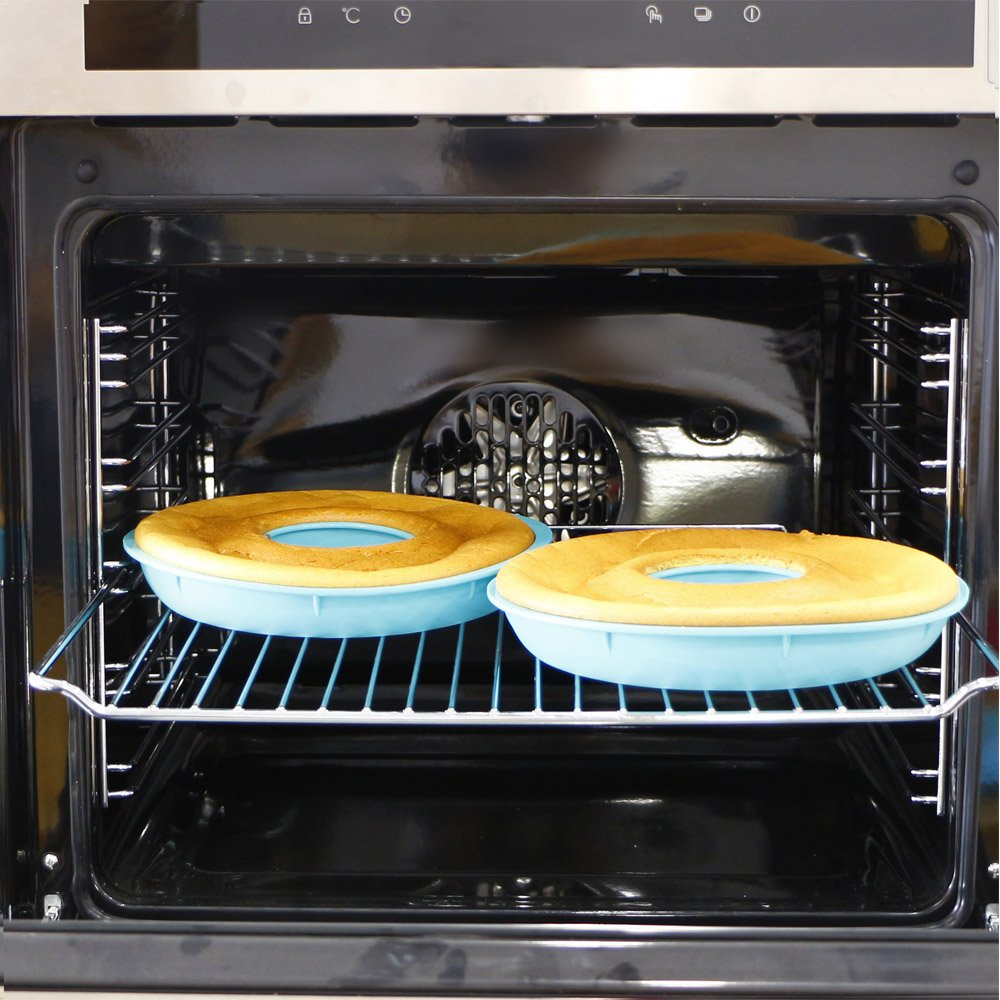 Webake Jumbo Silicone Donut Mold Non-Stick Cake Pan Set of 2 by Webake (Image #5)