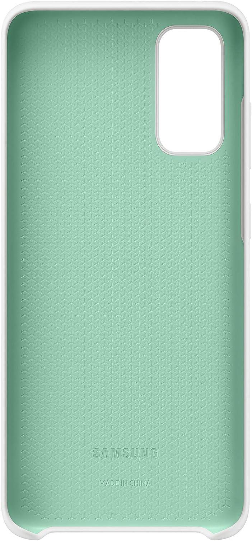 Samsung Funda de silicona para Galaxy S20 rosa