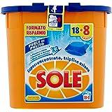 Sol - Perlas proteggicolore, Detergente para lavadora (18 monodosi ...