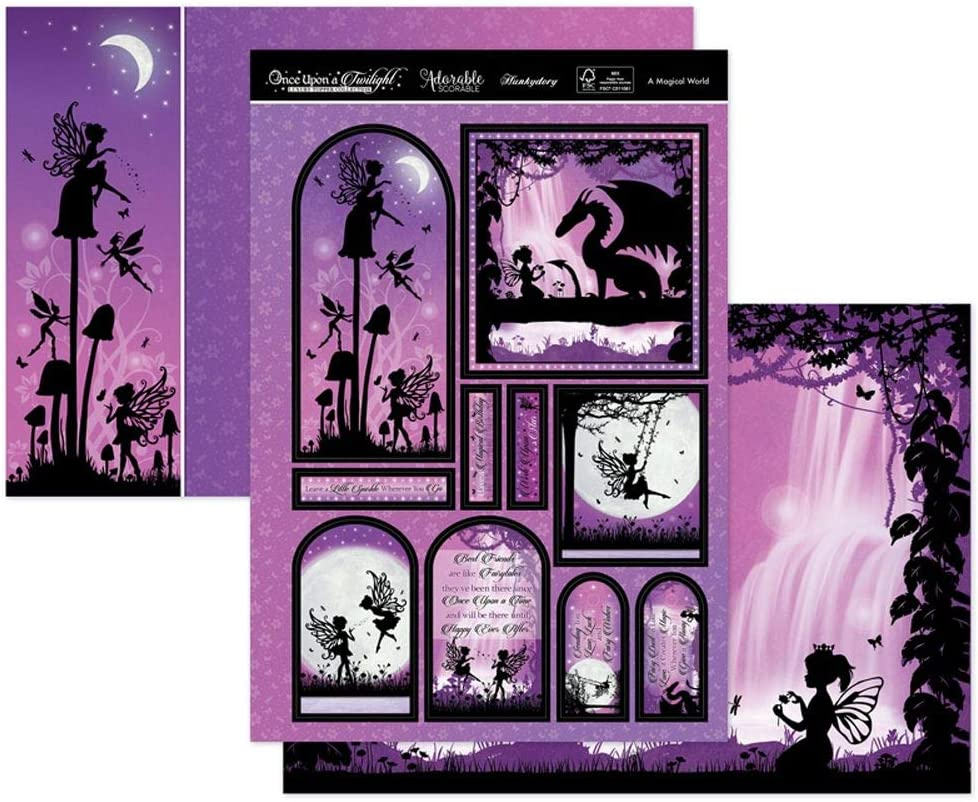 Once Upon A Twilight Hunkydory A Magical World Luxury Topper Set