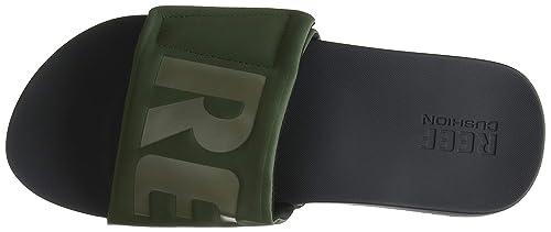 f2b5eb6ab69d Reef Men s Cushion Bounce Slide Sandal  Amazon.ca  Shoes   Handbags