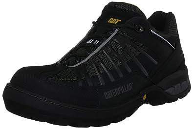PROTEQ KAUFMANN S1P CAT LG ZWART 41 - Zapatos De Seguridad de piel Unisex adulto,