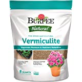 Burpee Natural Fine Grade Horticultural Vermiculite, 8 Quart
