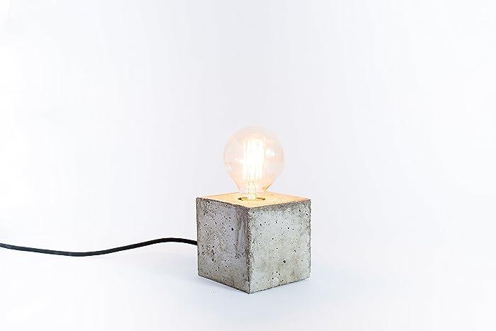 Lampada In Cemento Fai Da Te : Concreto lampada cemento design della lampada lampada a mano