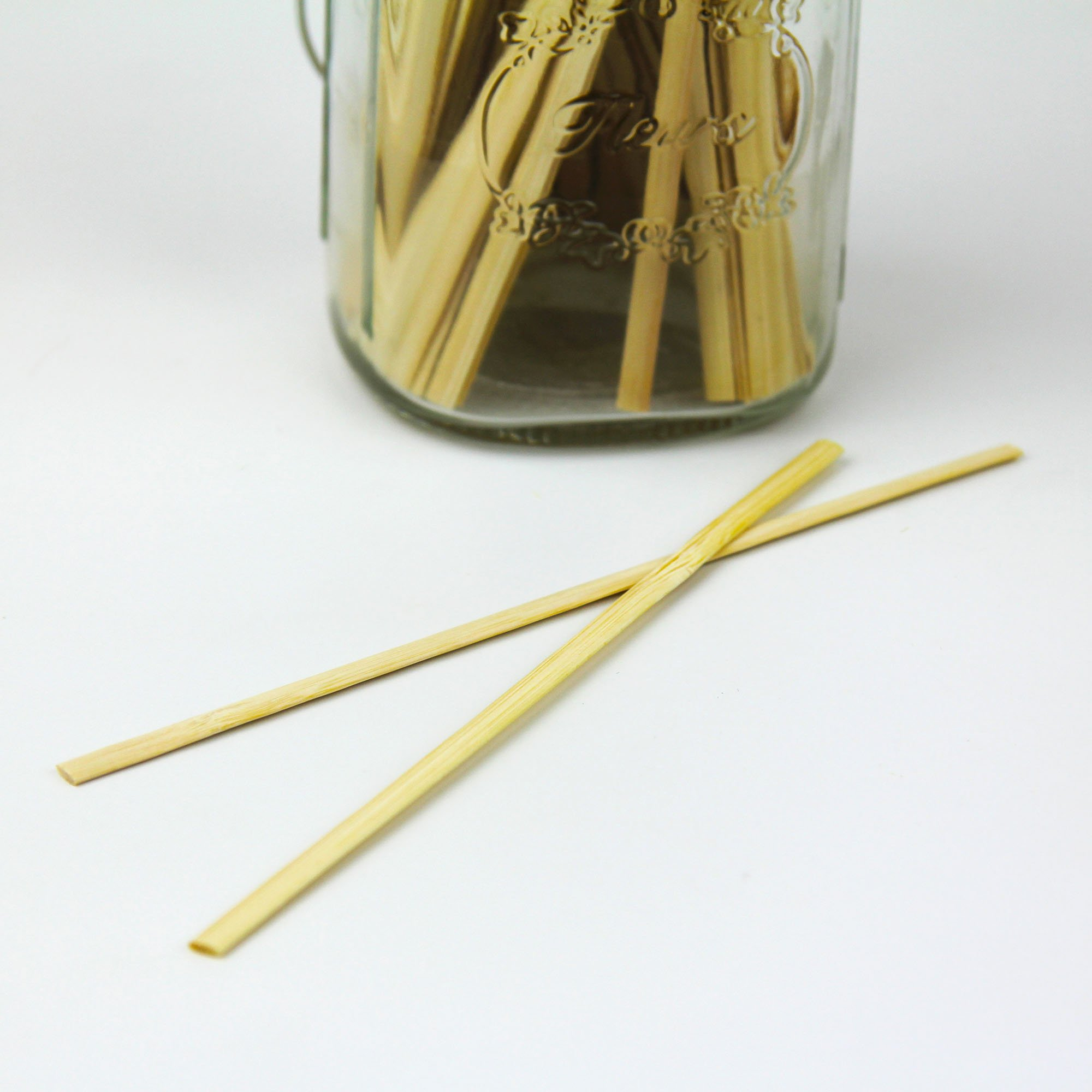 7'' Bamboo Wood Coffee Stir Sticks, Disposable Wooden Tea Drink Cocktail Mix Stirrers, Compostable Eco Friendly For Hot Cold Beverages - 1000 Pack by Fit Meal Prep (Image #4)