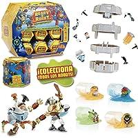 Ready 2 Robot Serie 1 - Cápsula Sorpresa con Robot, Piloto y Slime, Multicolor (Giochi Preziosi RED04000)