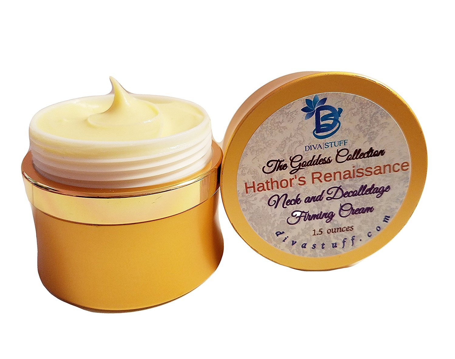 Hathor's Renaissance, Neck and Decolletage Firming Cream, By Diva Stuff The Goddess Collection Hathor' s Renaissance