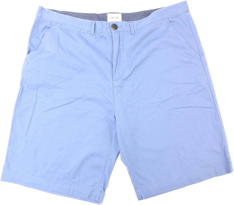Jachs Men's Stretch Sateen Short French Blue