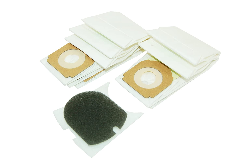 Sacchetti di carta per aspirapolvere Hoover 35600279H59, confezione da 5