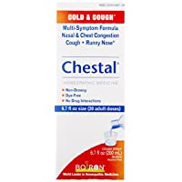 Boiron Chestal Adult Cold and Cough Syrup, 6.7 Fluid Ounce