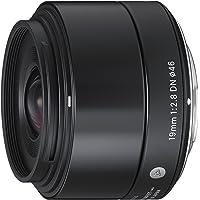 Sigma 40B963 Obiettivo 19mm-F/2.8 AF DN, Attacco Micro 4/3, Mirrorless, Nero