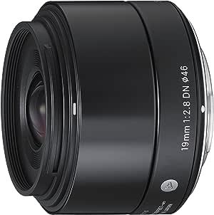 Sigma 19mm f/2.8 DN Lens for Sony NEX E-mount Cameras (Black)