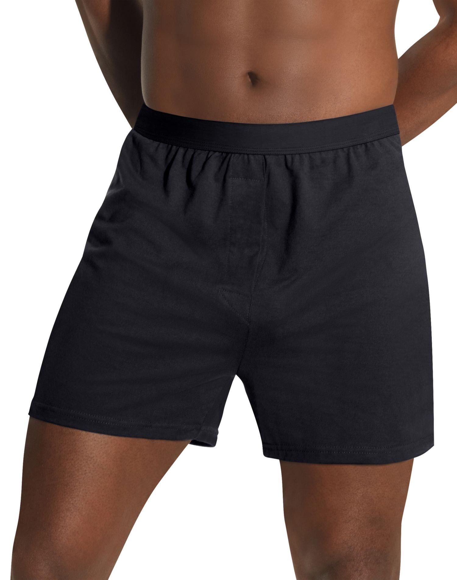 Hanes Tagless Big Men's 3-Pack Knit Boxers