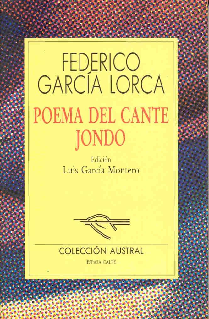 Poema Del Cante Jondo Amazones Federico García Lorca Libros