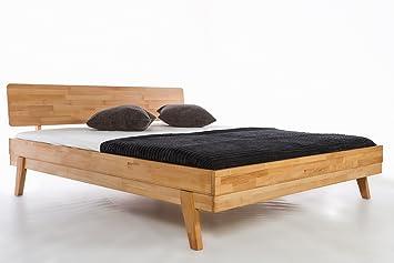 Massivholzbett Milano Kernbuche Doppelbett Bett Buche Massiv