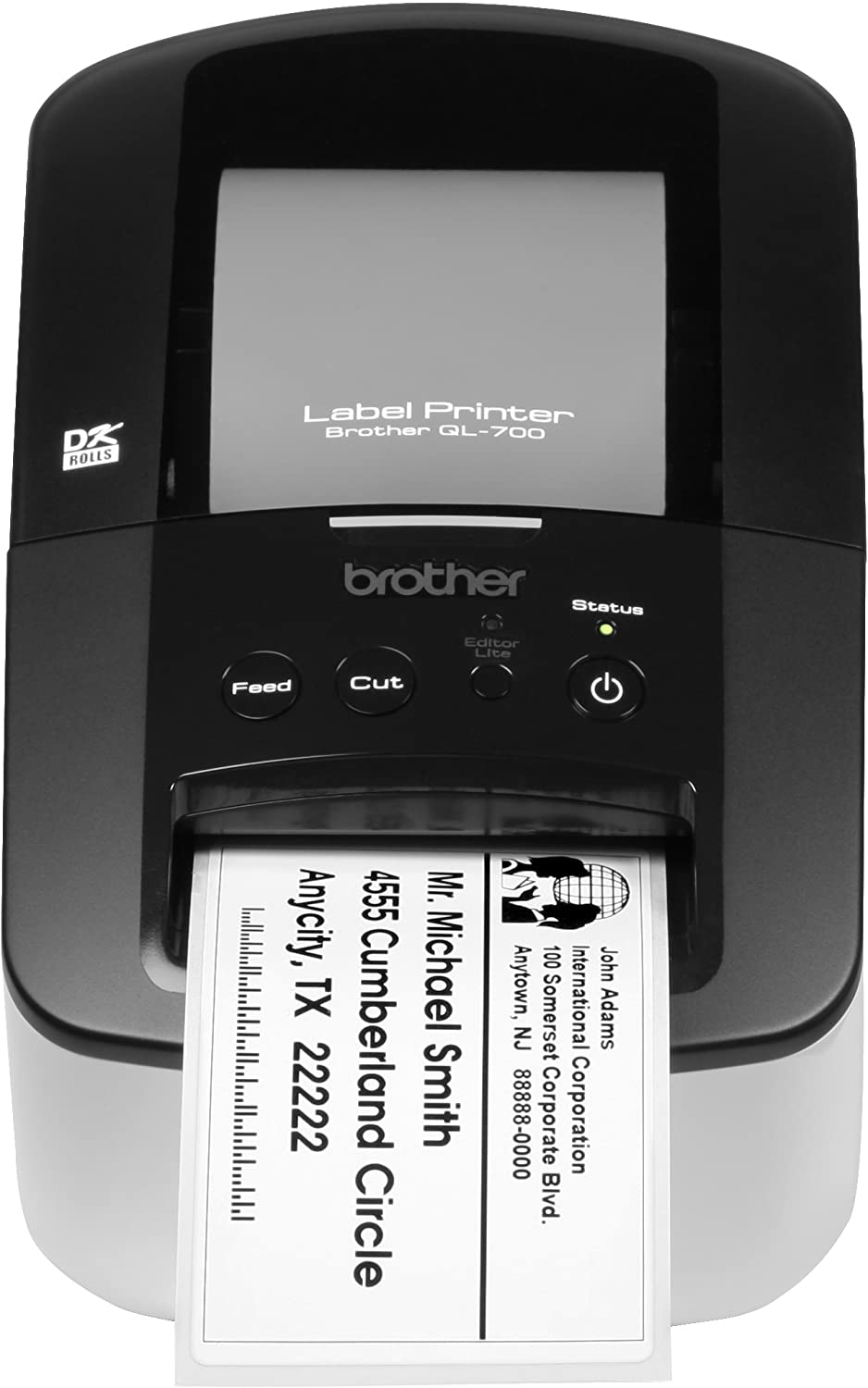 Brother QL-700 High-speed, Professional Label Printer : Label Makers : Home & Kitchen