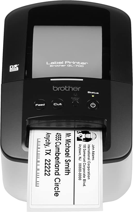 Brother QL-700 High-speed, Professional Label Printer