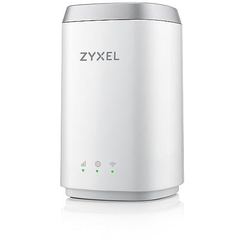Zyxel AC1200 Routeur 4G LTE Dual Band (slot carte SIM non bloqué) [LTE4506]