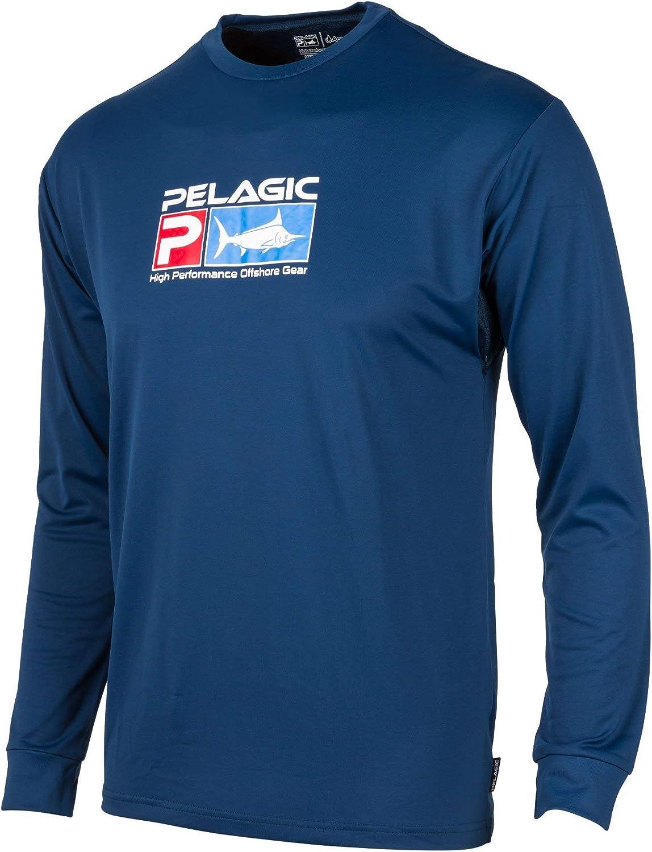 Bassdash T-Shirts de p/êche pour Hommes Protection Solaire UV UPF 50 T-Shirt /à Manches Longues