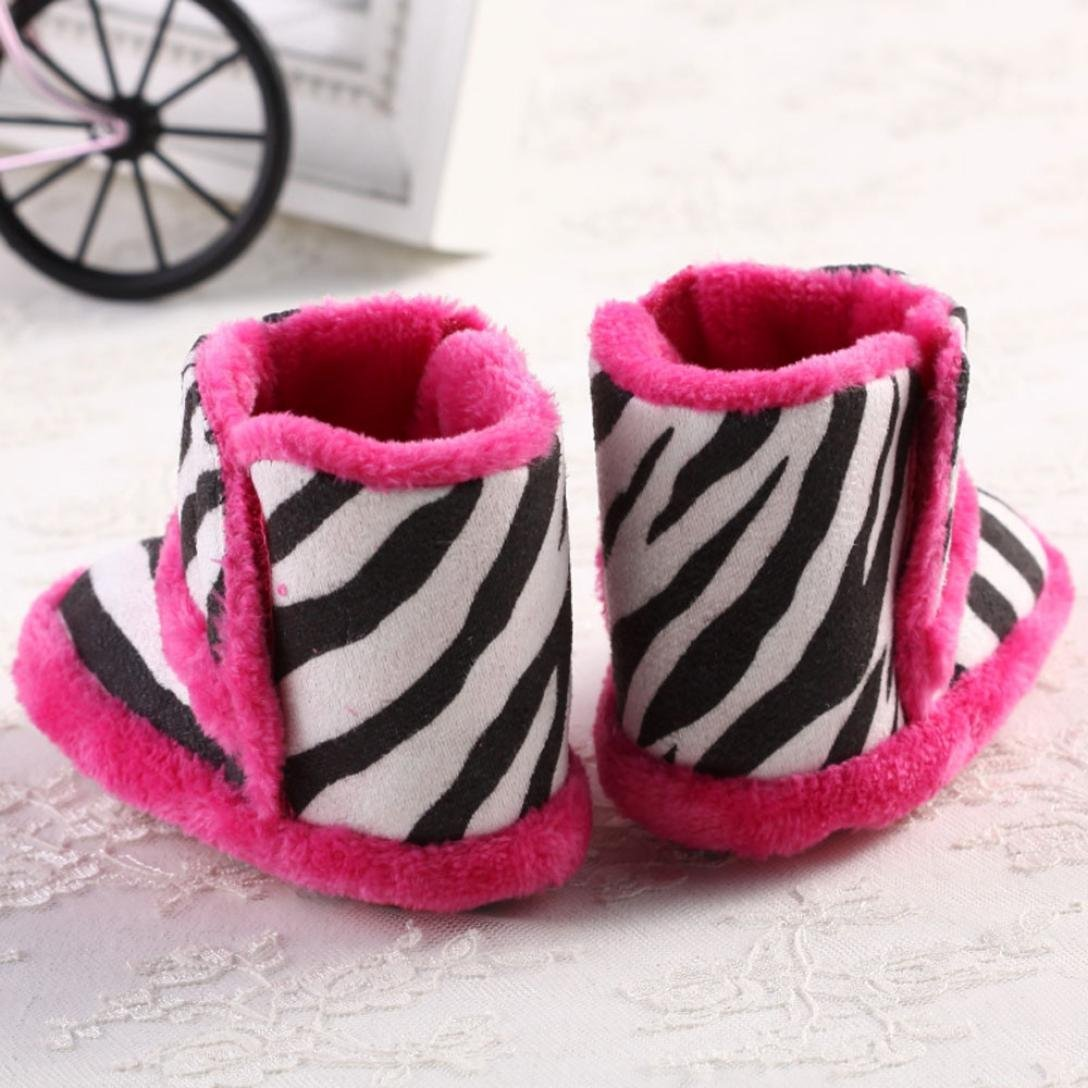 Amiley Baby Boots Baby Toddler Infant Girl Snow Boots Soft Sole Prewalker Crib Shoes