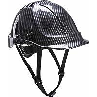 Portwest Premium Endurance Carbon Look Arbeitsschutzhelm - EN 397 - Helm für Führungskräfte, Architekten, Bauleiter, Ingenieure