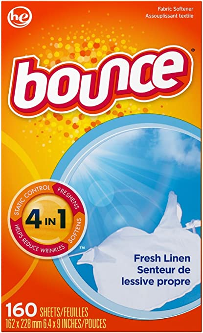 Amazon Com Bounce Fabric Softener Sheets 160 Count Health