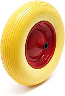 Puncture Proof PU Wheel for Wheelbarrow-Complete Size 4.80/4.00-8