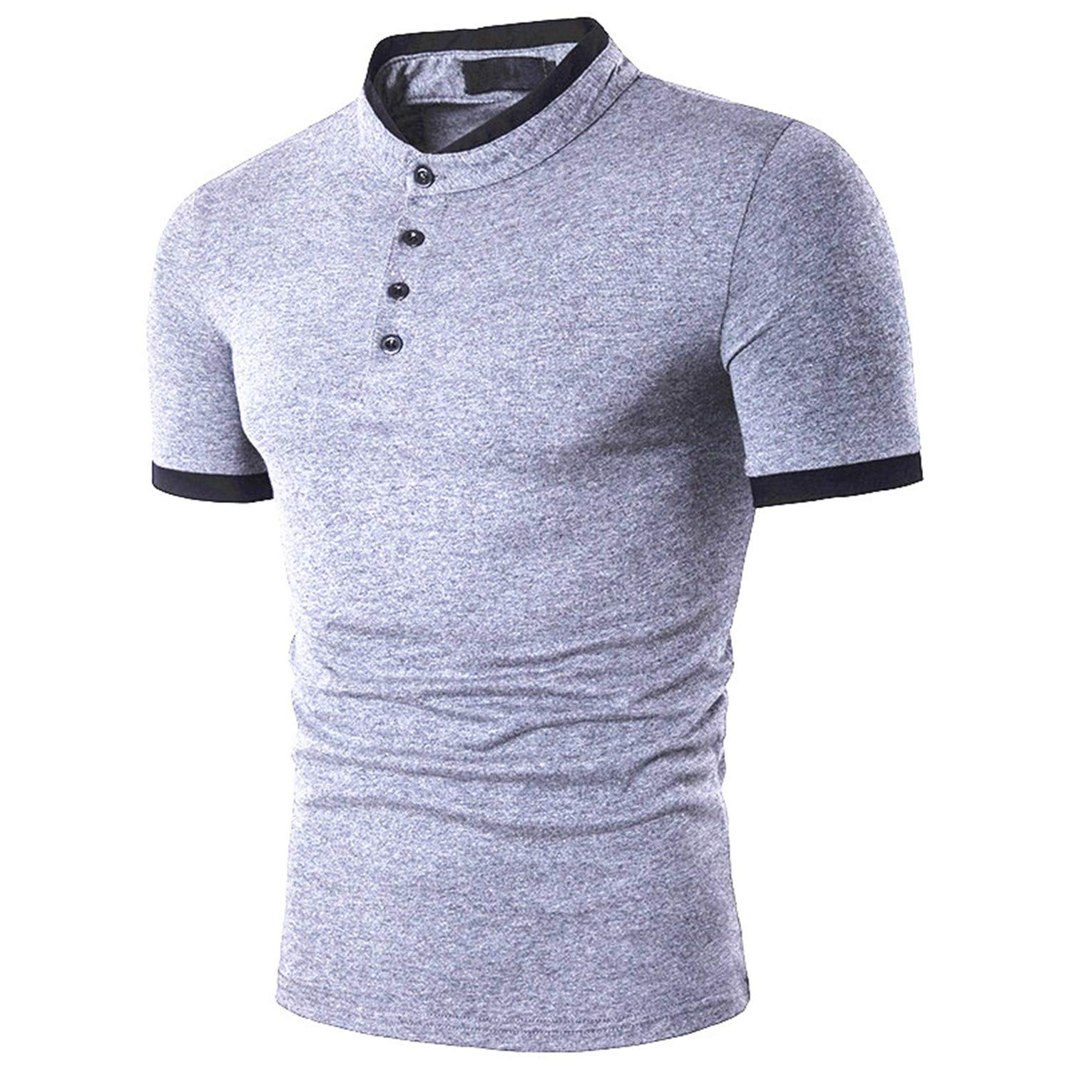 Casual Slim Fit Tops Polos Male Breathable Cotton Men Polo Shirt Short Sleeve Bussiness Polo Shirts Man Clothes