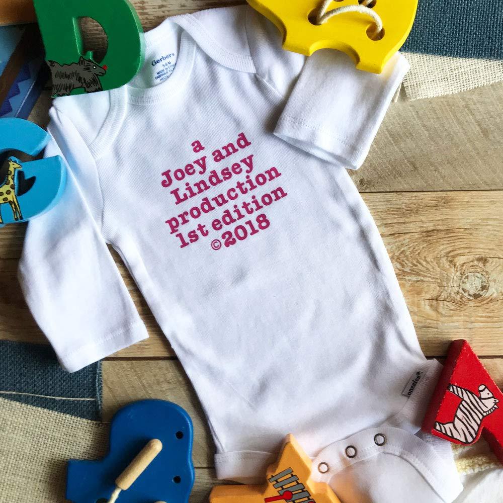 Baby Production Onesie - Custom Onesie - Personalized Baby Gift