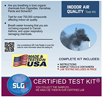 Amazon.com: Indoor Air Quality Home Test Kit - Includes All ...