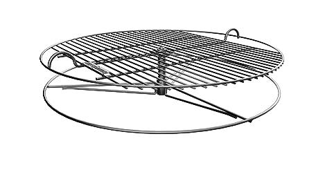 GrillUp rejilla de parrilla para barbacoa con altura ajustable | 100% de acero inoxidable para
