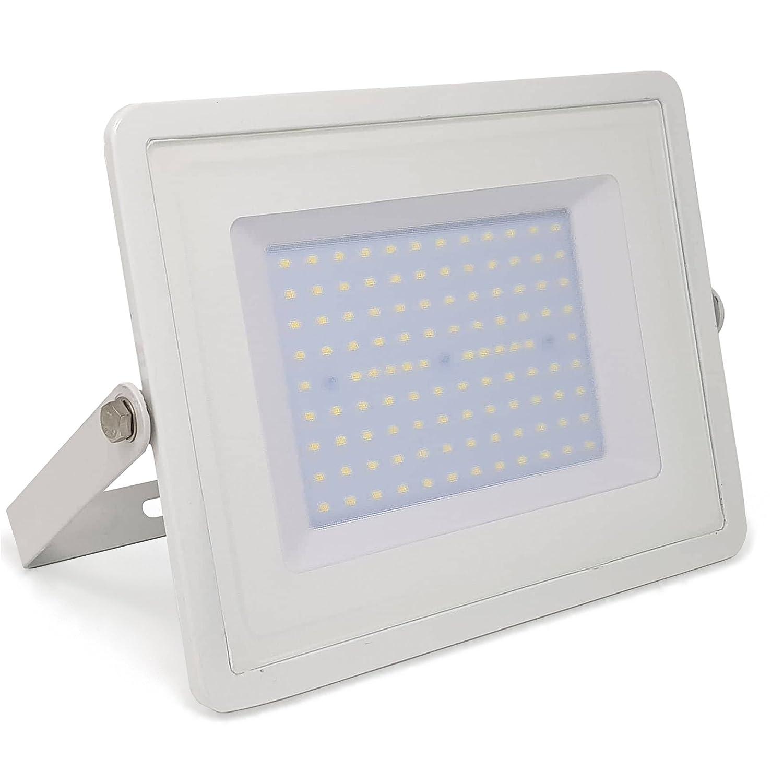 2-er Pack - ZONE LED SET - 20W - LED Strahler, LED Fluter - Tageslicht (4000K) - 1700 Lm - Entspricht 100W - Abstrahlwinkel 110° - Schwarzer Körper [Energieklasse A+]
