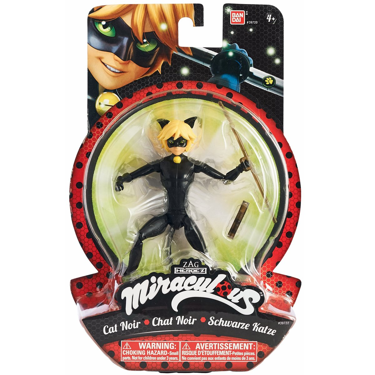 Miraculous 39724 Disney bewegliche Puppe