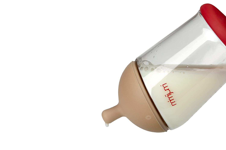 mimijumi Dunlker Baby-Trinkflasche Very Hungry 240ml Milchflasche