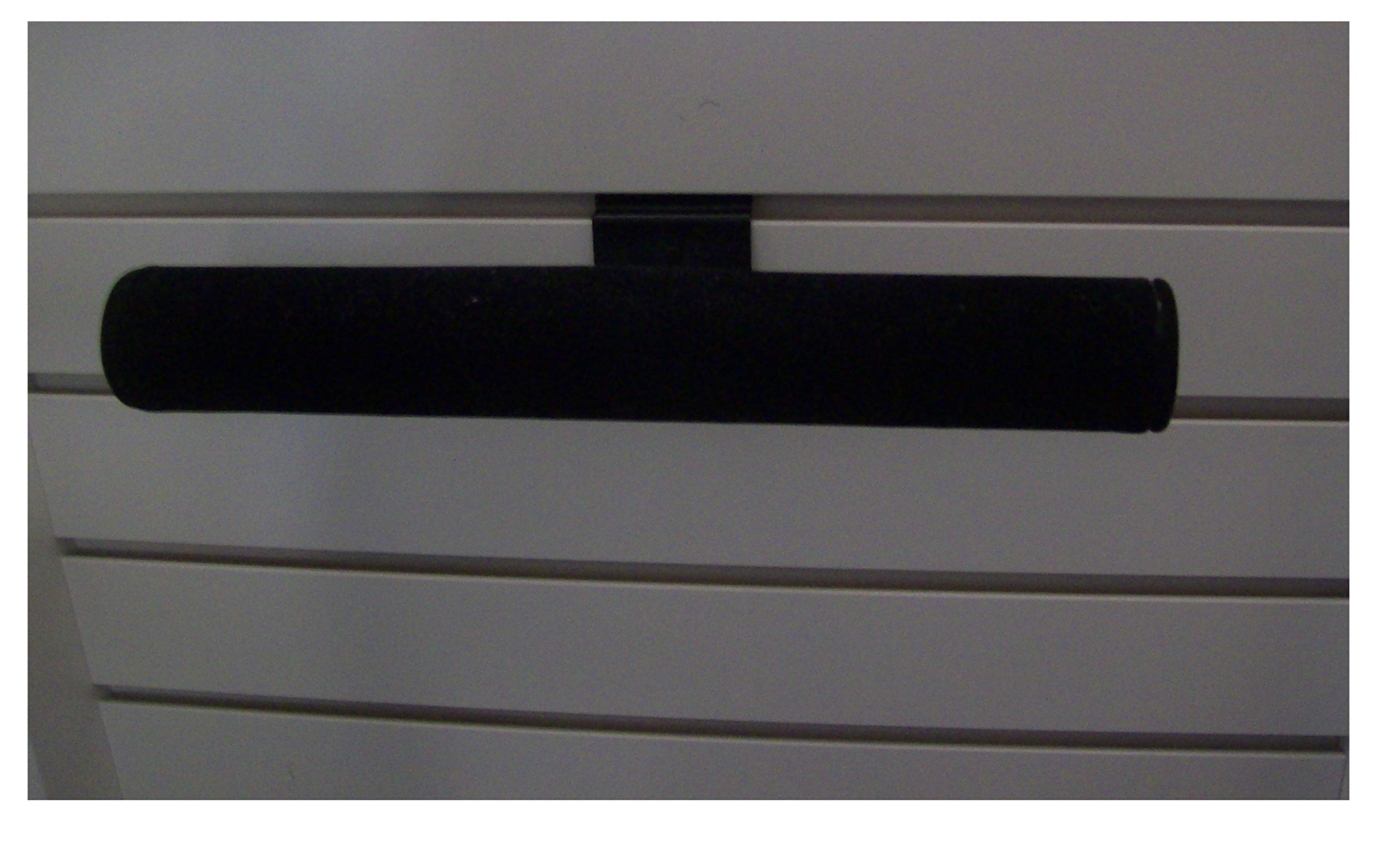 24 Slatwall T Bar Jewelry Displays Black Velvet 12'' Long