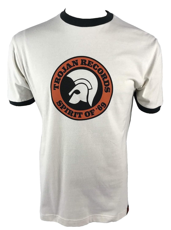 Trojan Spirit of 69 TC/1006 - Camiseta de Manga Corta, diseño con ...