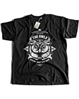Flamentina 5005 The Owls Are Not What They seem Mens T-Shirt Twin Peaks Great Northern Hotel RR Diner Black Lodge Lora Palmer