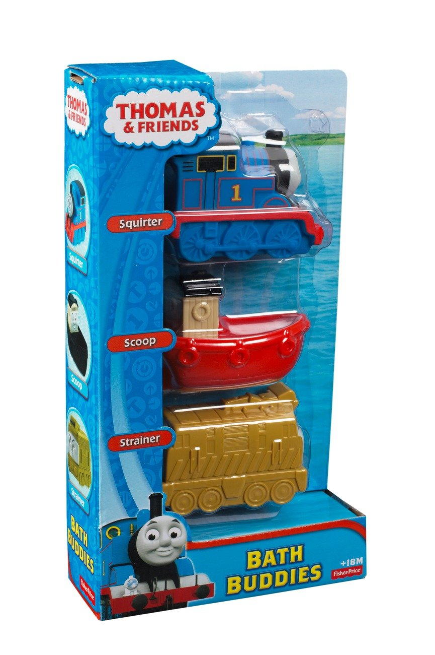 Amazon.com: Thomas & Friends Fisher-Price My First, Bath Buddies ...