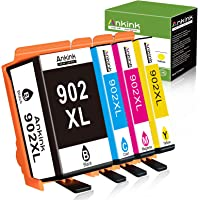 Ankink Compatible Ink Cartridge Replacement for HP 902XL 902 XL Ink Cartridge for Officejet Pro 6978 6968 6962 6970 HP…