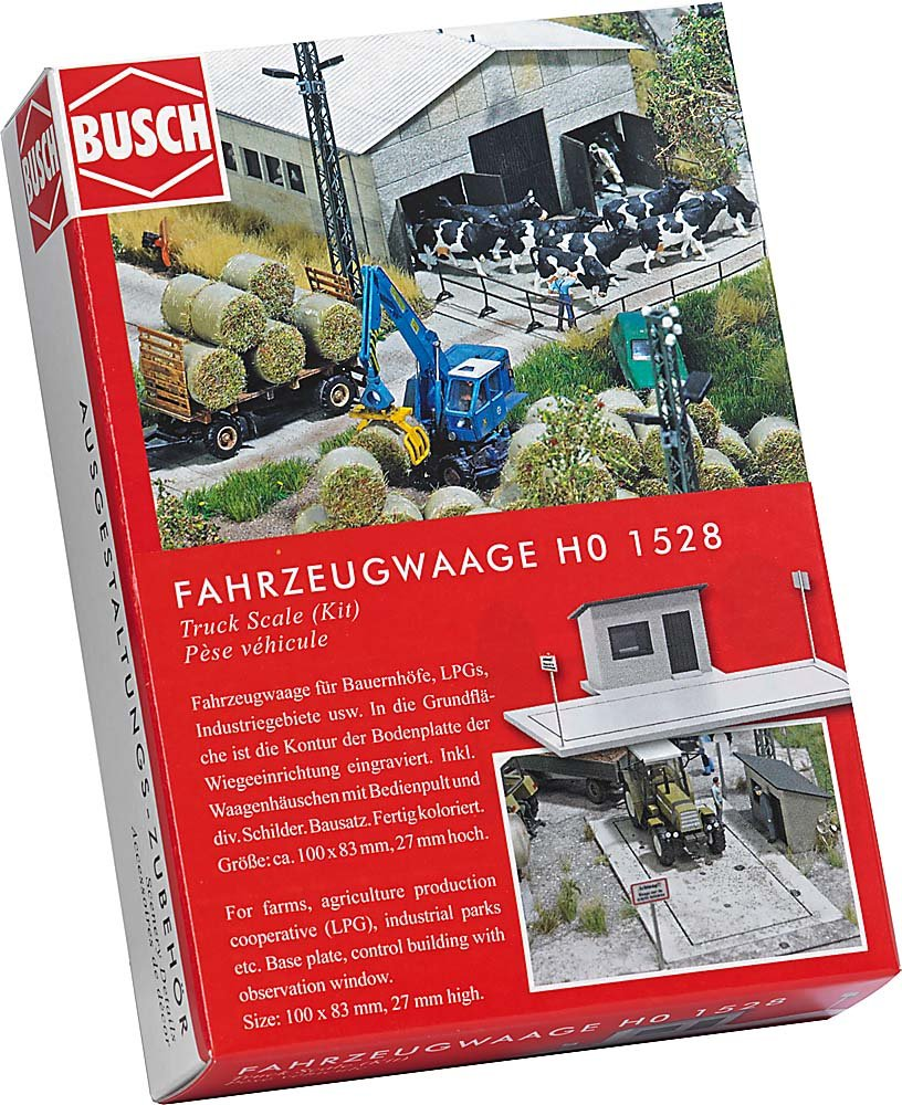 Busch 1528 Vehicle HO Structure Scale Model Structure MODELS11 INC
