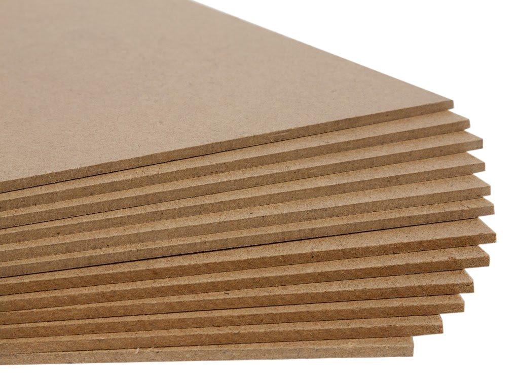 Jack Richeson Medium Density Untempered Hardboard(12 pack) ,  12x16 by Jack Richeson